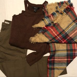 Accessories - 🛍 2 for $25! Plaid Blanket Scarf